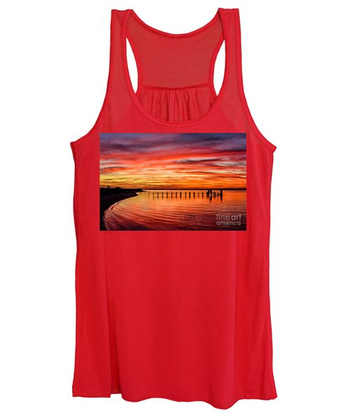 Pink Bay Women's Tank Top