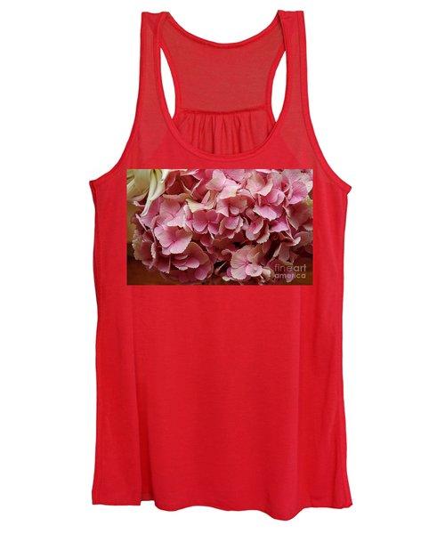 Pink Flowers Women's Tank Top