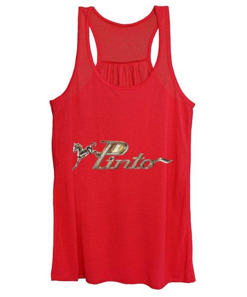 Pinto Car Badge Women's Tank Top