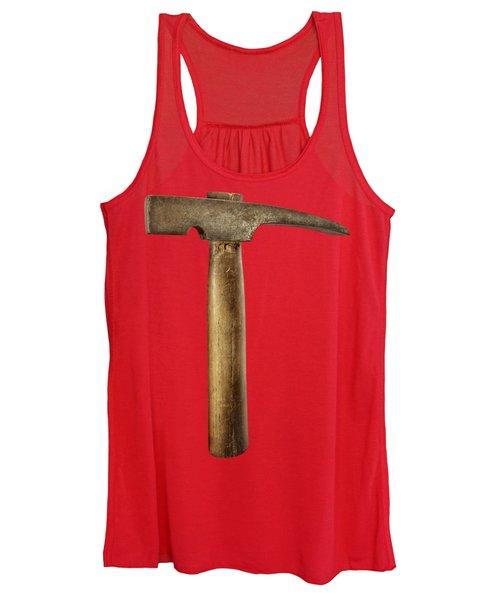 Plumb Masonry Hammer Women's Tank Top