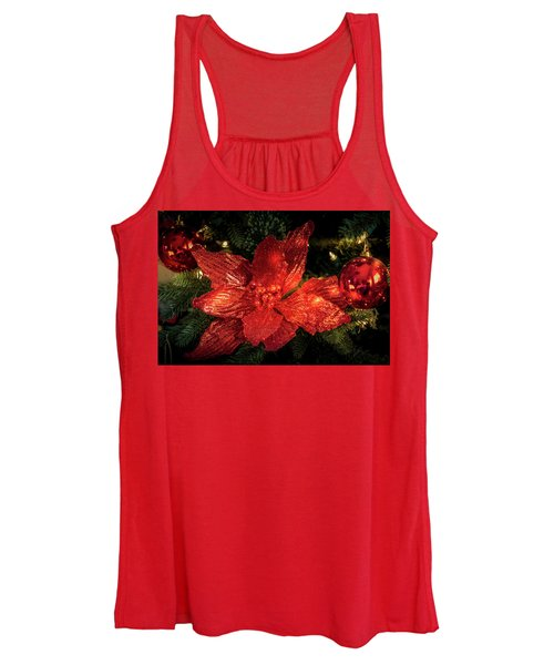 Poinsettia  Women's Tank Top