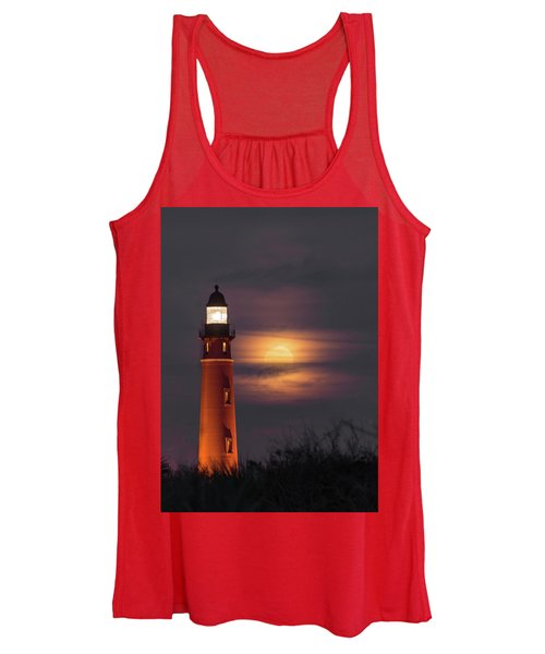 Ponce De Leon Full Moon Women's Tank Top
