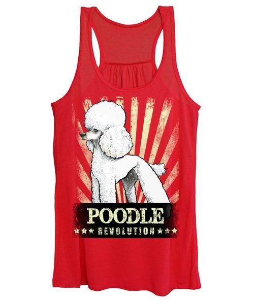 Poodle Revolution Women's Tank Top