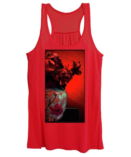 Poppies And Roses Women's Tank Top