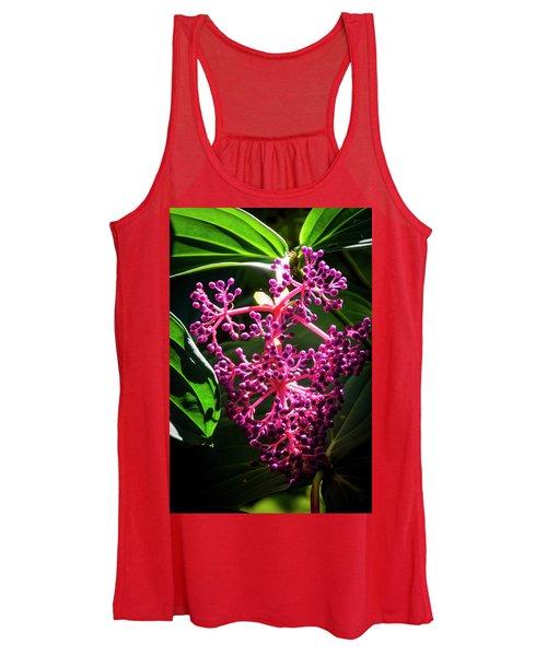 Purple Plant Women's Tank Top