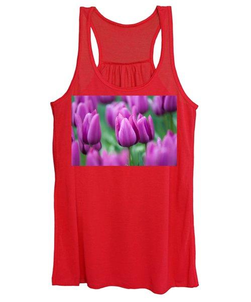 Purple Tulips Of Keukenhof Women's Tank Top
