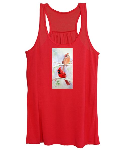 Radiance Of Cardinals Women's Tank Top