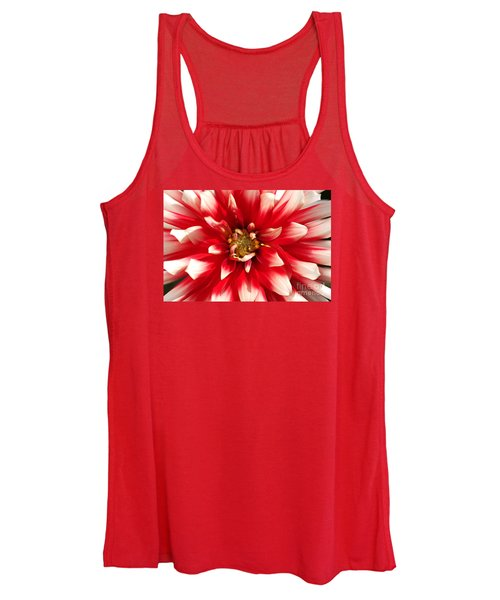 Radiant Dahlia Women's Tank Top