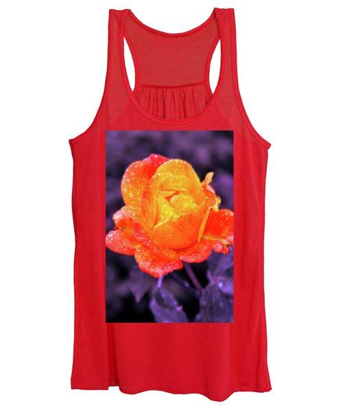 Raindrops On Roses Women's Tank Top