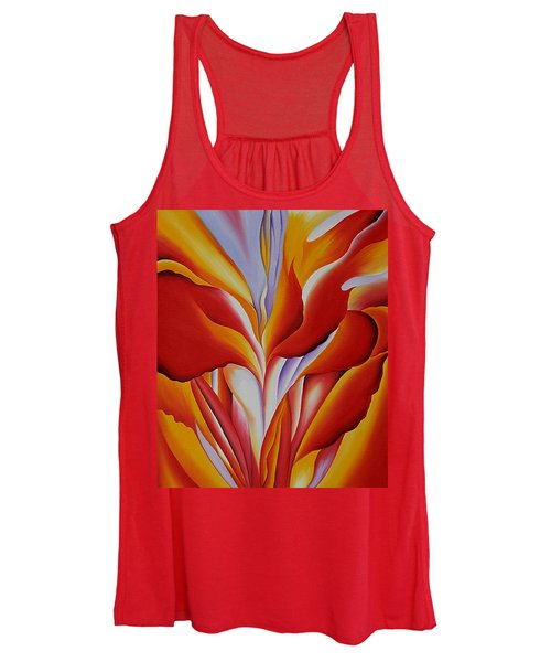 Red Canna Women's Tank Top
