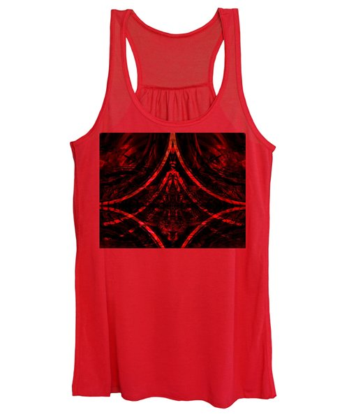 Red Competition Women's Tank Top