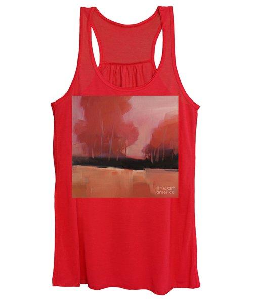 Red Flair Women's Tank Top