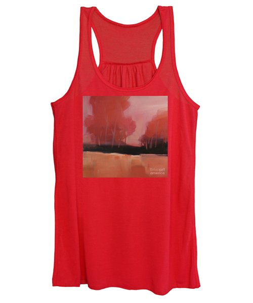 Red Flair Women's Tank Top