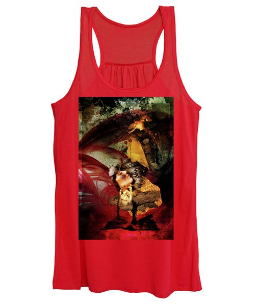 Red Girl Women's Tank Top