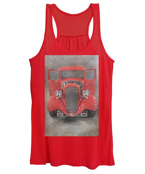 Red Hot Baby Women's Tank Top