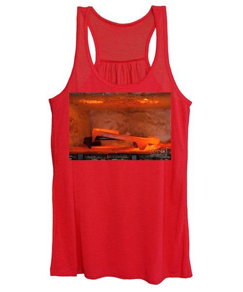 Red Hot Horseshoe Women's Tank Top