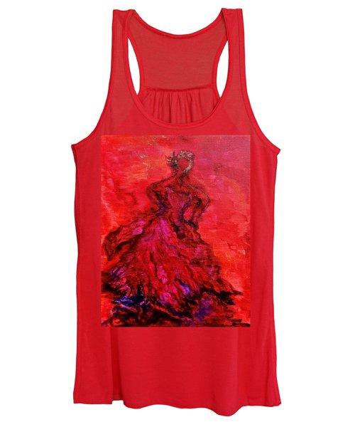 Red Lady Women's Tank Top
