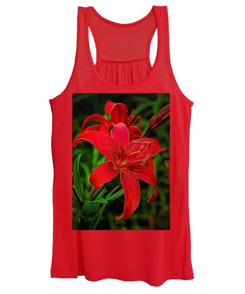 Red Lily Women's Tank Top