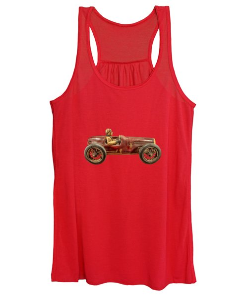 Red Racer Right Women's Tank Top