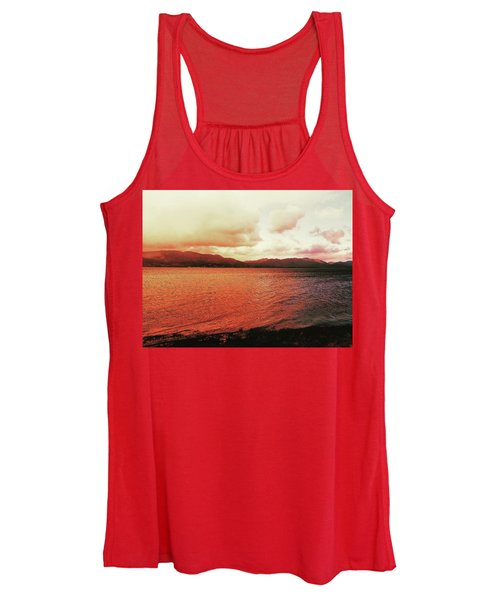 Red Sky After Storms  Women's Tank Top