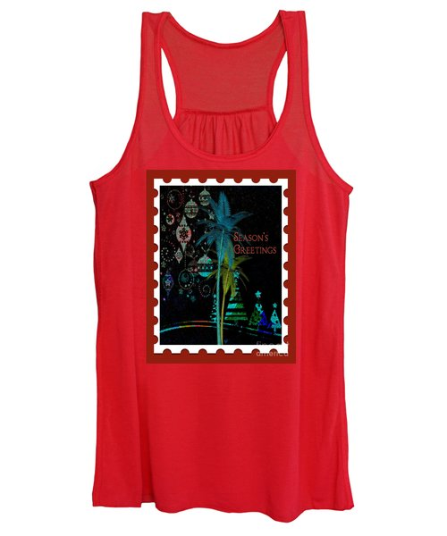 Red Stamp Women's Tank Top