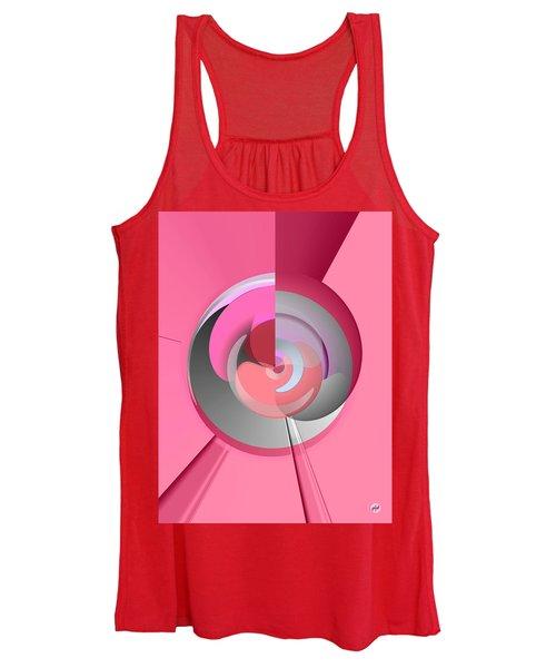 Red Wine Wheels Women's Tank Top