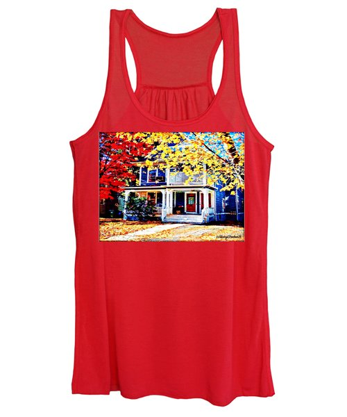 Reds And Yellows Women's Tank Top