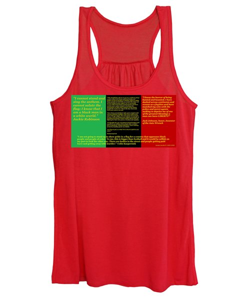 Colin Kaepernick Rbg Women's Tank Top