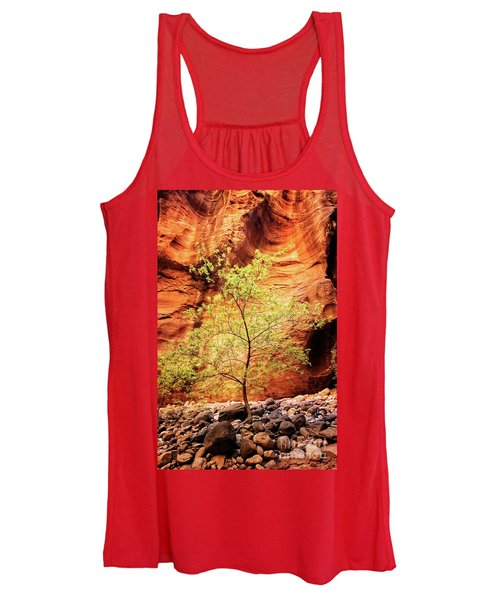Rock Tree Women's Tank Top