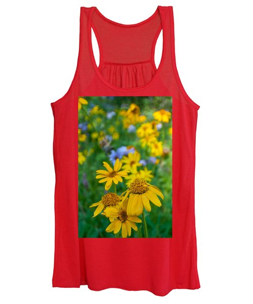 Rocky Mountain Wildflowers Women's Tank Top
