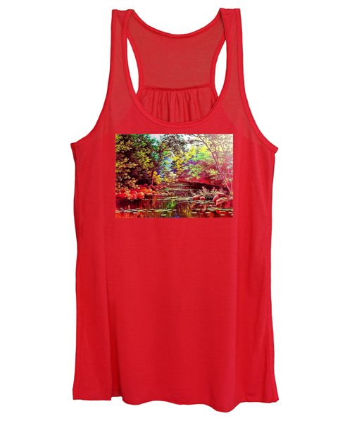 Rocky Rainbow River Women's Tank Top