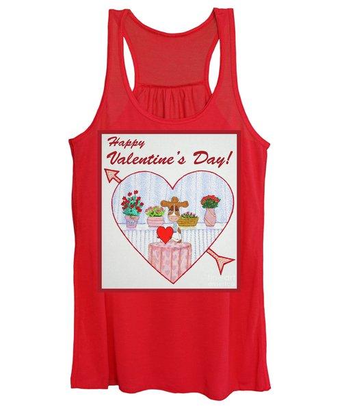 Ruthie-moo Happy Valentine's Day Women's Tank Top