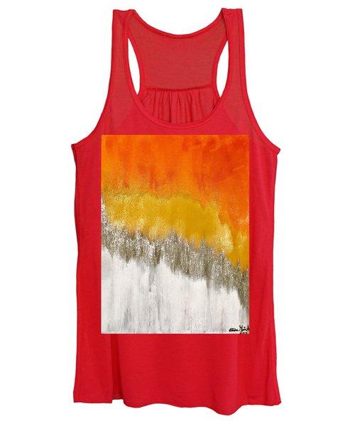 Saffron Sunrise Women's Tank Top