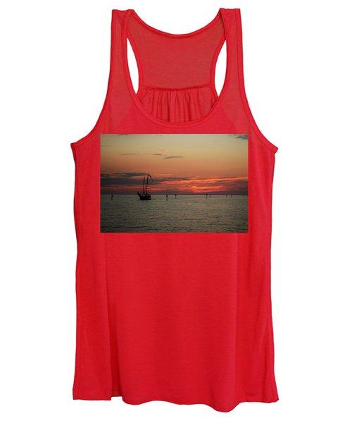 Sailing Sunset Women's Tank Top