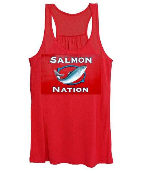 Salmon Nation Women's Tank Top