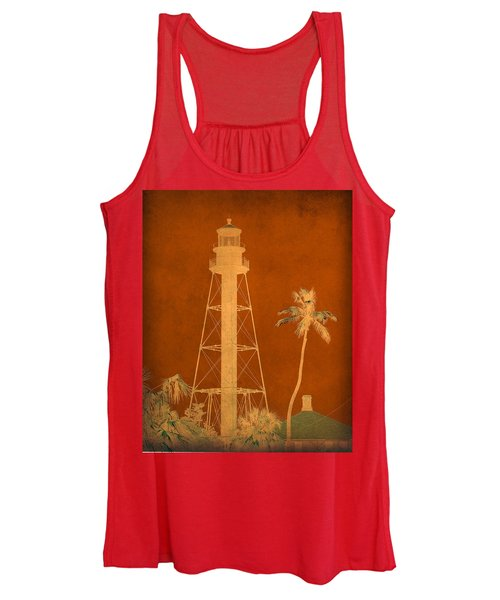 Sanibel Island Lighthouse Women's Tank Top