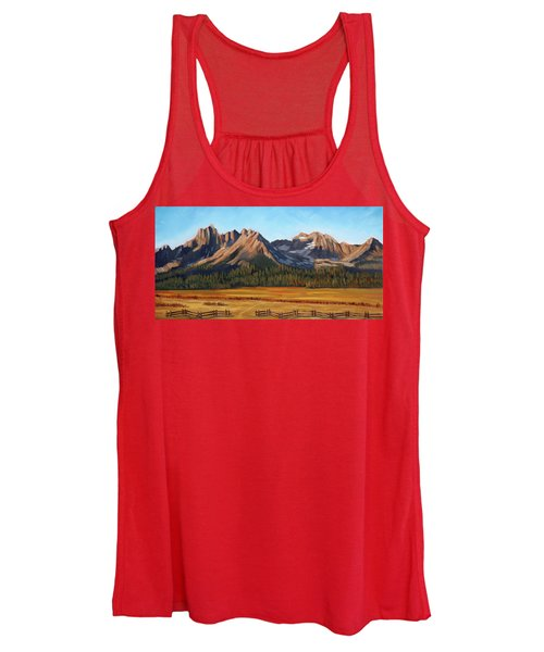 Sawtooth Mountains - Iron Creek Women's Tank Top
