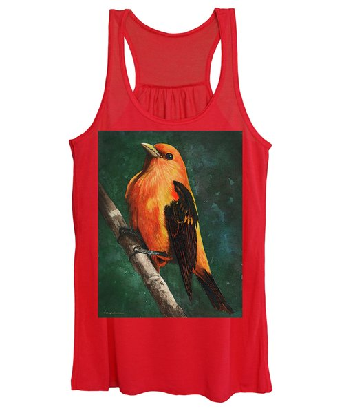 Scarlet Tanager Women's Tank Top