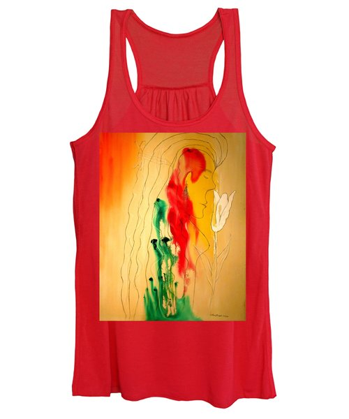 Scent Of An Orchid Women's Tank Top