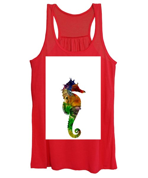 Women's Tank Top featuring the photograph Sea Horse by Michael Colgate