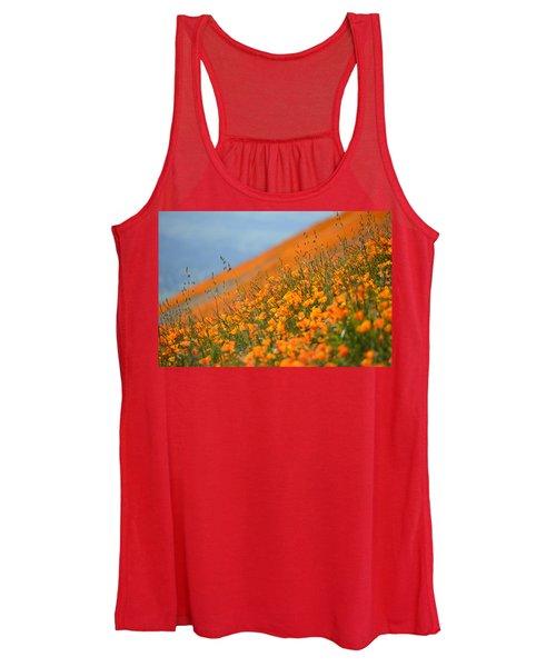 Sea Of Poppies Women's Tank Top