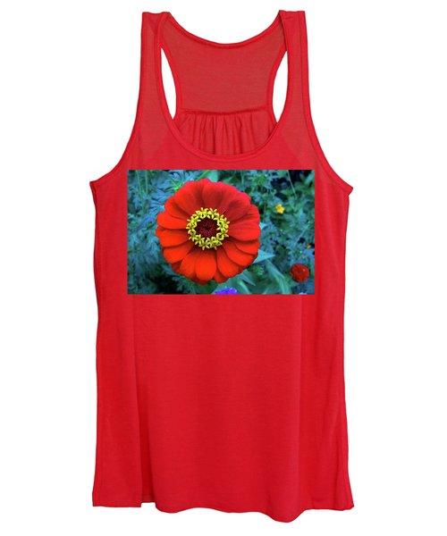 September Red Beauty Women's Tank Top