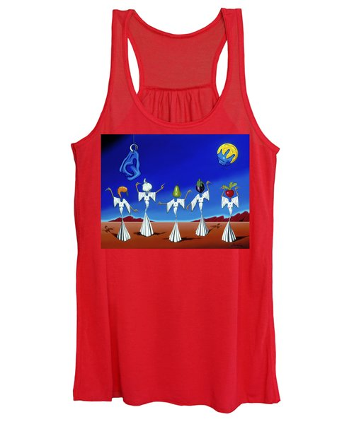 Serenade Of The Sisters Women's Tank Top