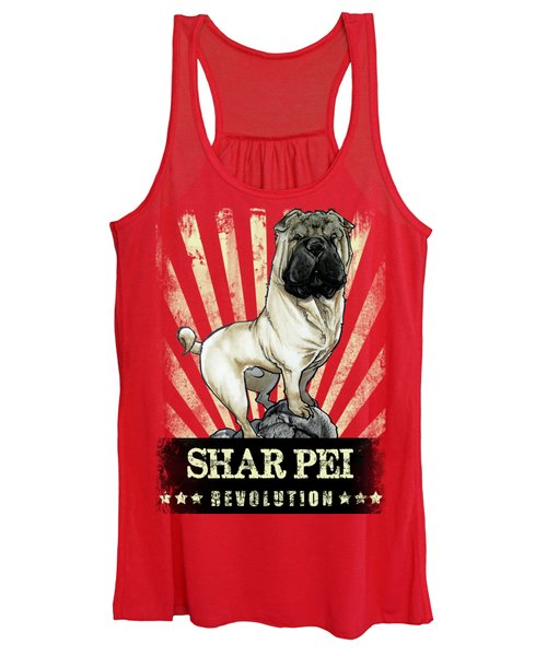 Shar Pei Revolution Women's Tank Top