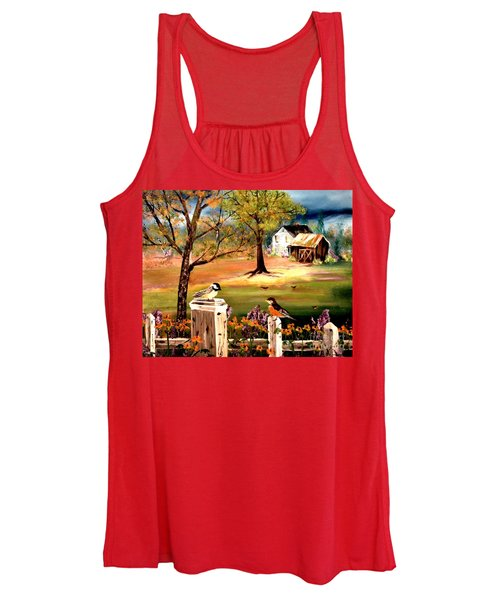 Signs Of Spring Women's Tank Top