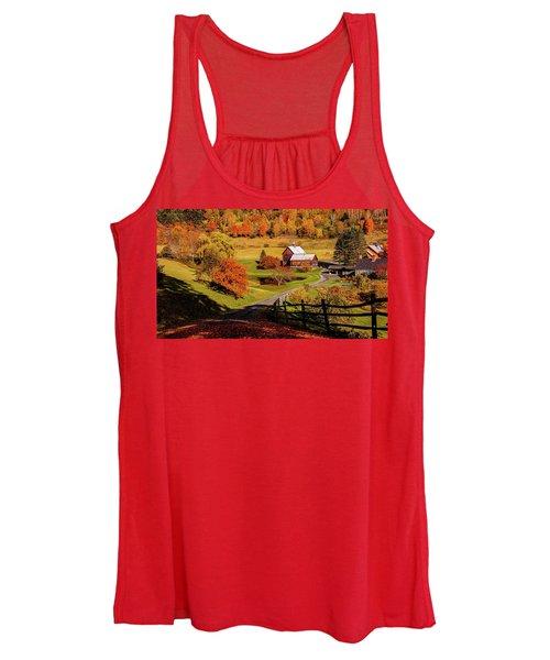 Sleepy Hollow - Pomfret Vermont-2 Women's Tank Top