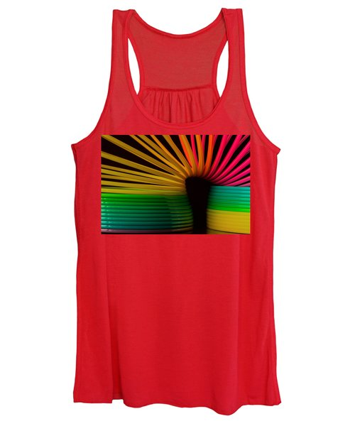 Women's Tank Top featuring the photograph Slinky by Bob Cournoyer