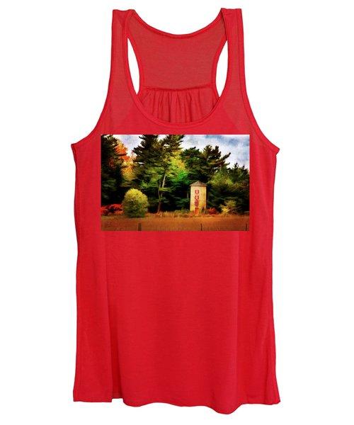 Small Autumn Silo Women's Tank Top