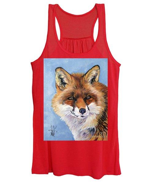 Smiling Fox Women's Tank Top