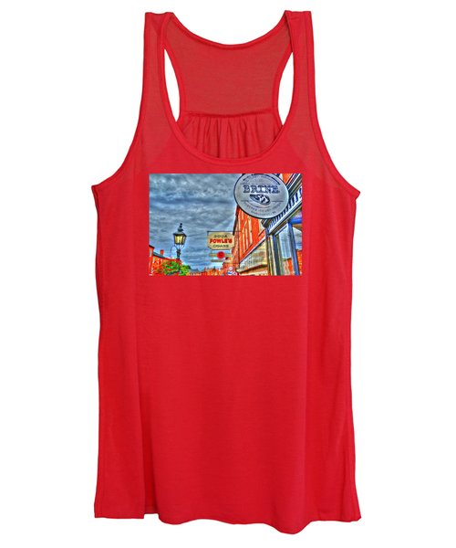Soda Cigars And Brine Painterly   Women's Tank Top
